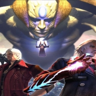 Devil May Cry 4 Heroes Nero And Dante Wallpaper
