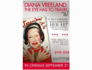 Diana Vreeland The Eye Has To Travel 2012 Poster Wallpapers