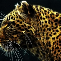 Digital Leopard Wallpapers