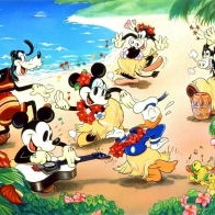 Disney Hula Day Wallpaper