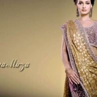 Diya Mirza In Colorfull Saree