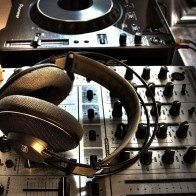 Dj Headphones Panel