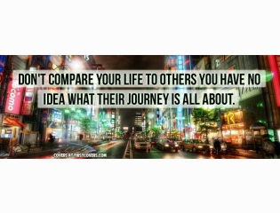Dont Compare Your Life Cover
