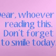 Dont Forget To Smile Today Cover