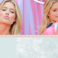 Doutzen Kroes Kiss Wallpaper
