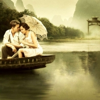 Download Couple On Boat Hd Wallpapers