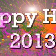 Download Happy Holi Facebook Timeline Covers