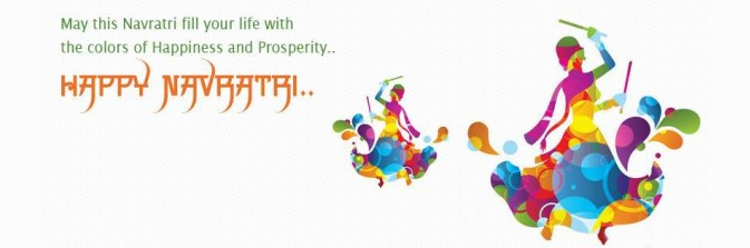 Download Happy Navratri Facebook Covers Pics