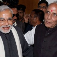 Download Narendra Modi With Rajnath Singh Hd Wallpapers