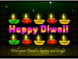Download Wish Your Diwali Is Happy And Bright