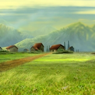 Dream Village Wallpapers