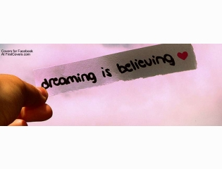 Dreaming Is Believing Cover