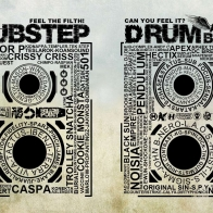 Dubstep Drum Bass Wallpaper