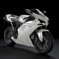 Ducati 1198 White Wallpapers