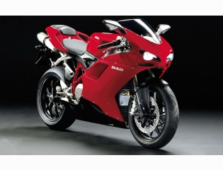 Ducati 848 In Red Color