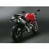 Ducati Monster 696 Red Rear Wallpapers