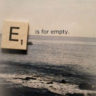 E Is For Empty Cover