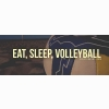 Eat Sleep Volleyball Cover