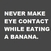 Eating A Banana Cover
