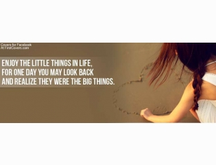 Enjoy The Little Things Cover