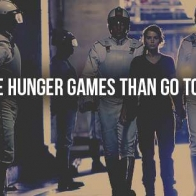 Enter The Hunger Games Cover
