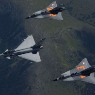 Eurofighter Typhoon Draken Fighter Jets