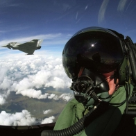 Eurofighter Typhoon Pilot Wallpaper