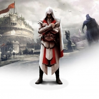 Ezio In Assassin 039 S Creed Brotherhood