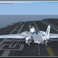 F 14 Tomcat Good Landing Wallpaper