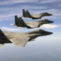 F 15 Eagle 039 S Over Atlantic Ocean Wallpapers