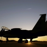 F 15 Eagle At Air Force Base Wallpapers