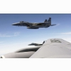 F 15 Eagle Flies With Kc 135 Stratotanker Wallpapers