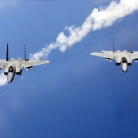 F 15 Eagles From The Air National Guard Wallpapers