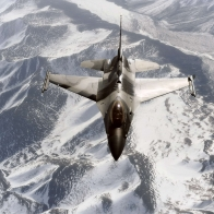 F 16 Aggressor Over The Joint Pacific Alaskan Range Wallpapers