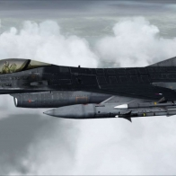 F 16 Fighting Falcon Fsx Wallpaper