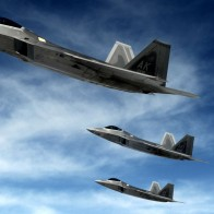F 22 Raptors Stealth Fighters Wallpapers