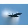 F18 Fighter When It Is About To Reach The Speed Of Sound