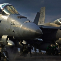 F18 Hornets Hooked Up Ready Wallpaper