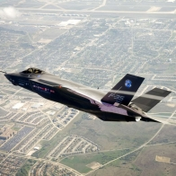F35 Over Fort Worth Texas