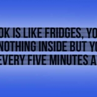 Facebook Is Like Fridges Cover