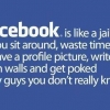 Download facebook is like jail cover, facebook is like jail cover  Wallpaper download for Desktop, PC, Laptop. facebook is like jail cover HD Wallpapers, High Definition Quality Wallpapers of facebook is like jail cover.