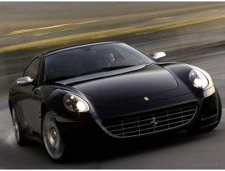Ferrai 612 Scaglietti Black 3 Hd Wallpapers