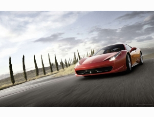 Ferrari 458 Italia Supercar 2 Hd Wallpapers