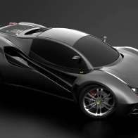 Ferrari Black Concept Hd Wallpapers