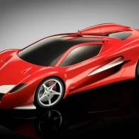 Ferrari Dark Concept Hd Wallpapers