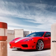 Ferrari F430 Adv1 Wheels Hd Wallpapers