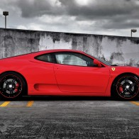 Ferrari On Forged Cf 5 Wheels 2 Hd Wallpapers