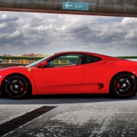 Ferrari On Forged Cf 5 Wheels 3 Hd Wallpapers