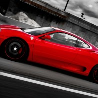 Ferrari On Forged Cf 5 Wheels Hd Wallpapers
