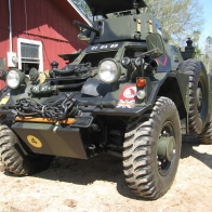 Ferrett Scout Car Wallpaper